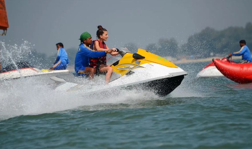 Jet Ski Ride in Goa
